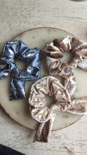 Luxury Hair Scrunchies