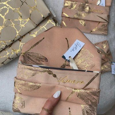 personalised luxury clutch bags
